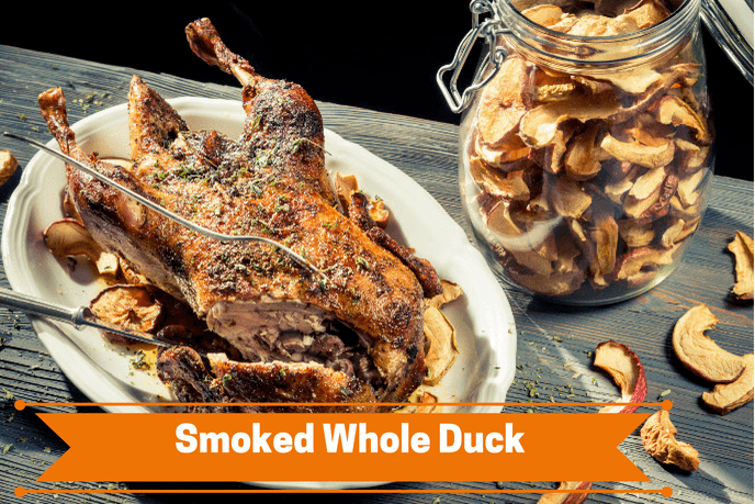 Smoked Whole Duck