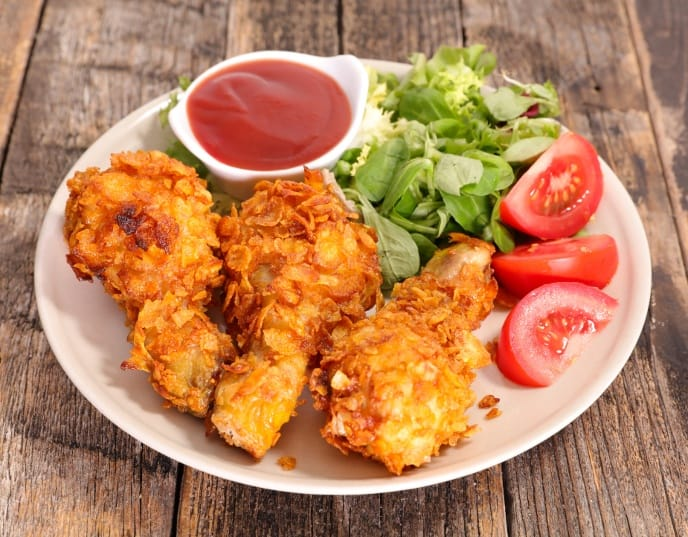 Crispy Air Fryer Fried Chicken