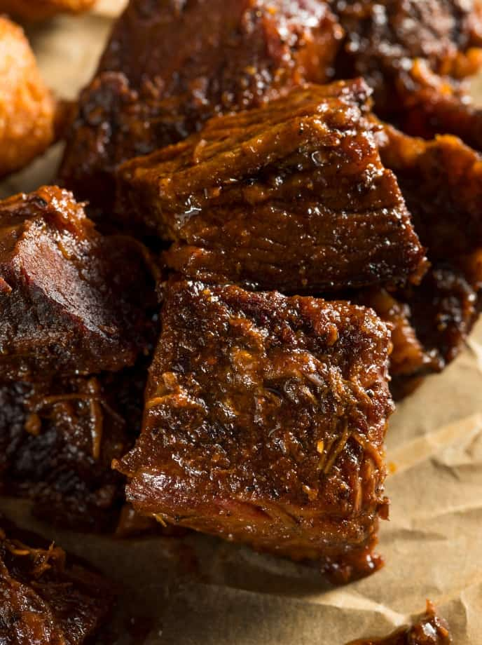 smoked poor mans burnt ends recipe