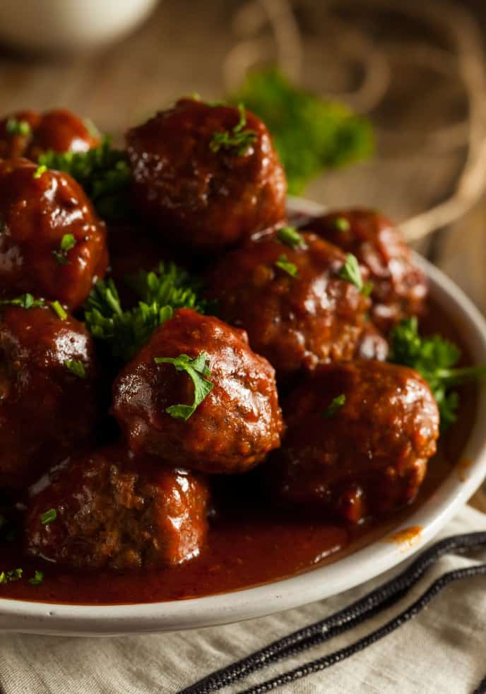 how to make homemade meatballs in the crockpot