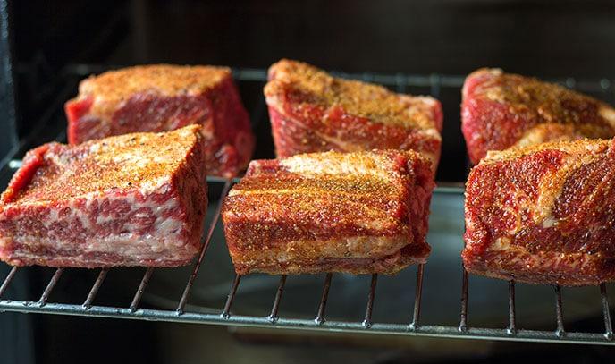beef short ribs smoked