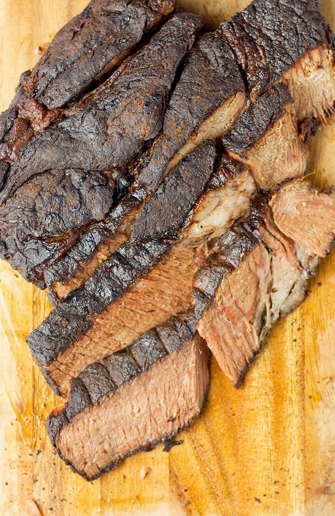 smoked beef chuck roast