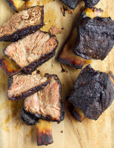 smoked short ribs