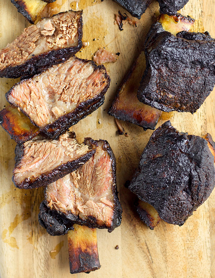 Smoked Short Ribs Step By Step Recipe Instructions