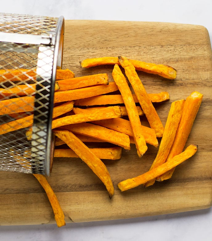sweet potato fries air fryer