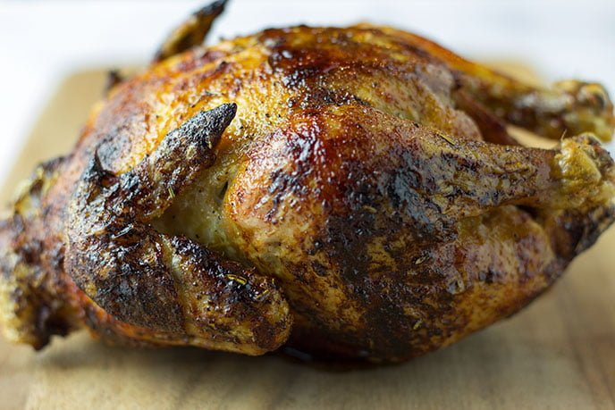 whole chicken in air fryer