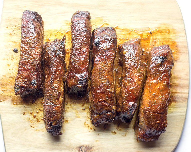 smoked country style ribs
