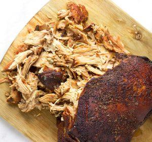 smoked pork roast