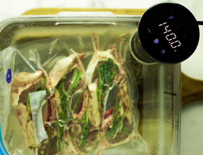 how long to sous vide lamb chops