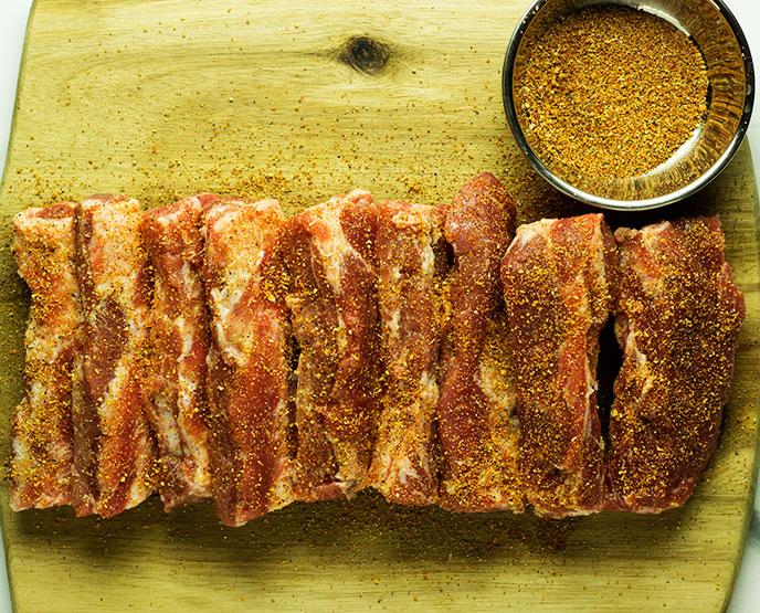 air fry pork ribs