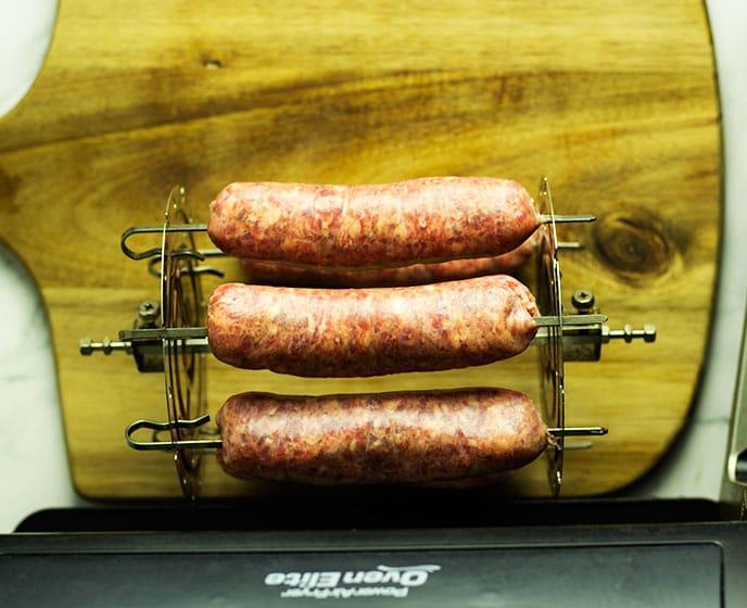 air fry breakfast sausage