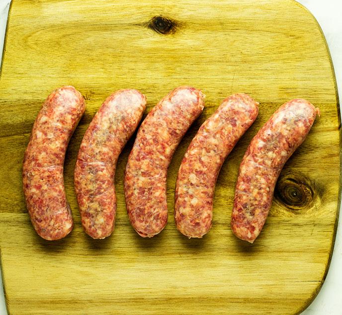 air fry sausage links