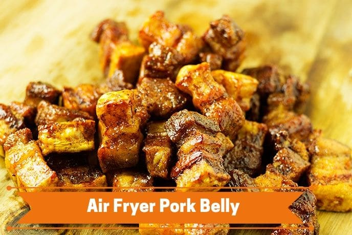 Air Fryer Pork Belly