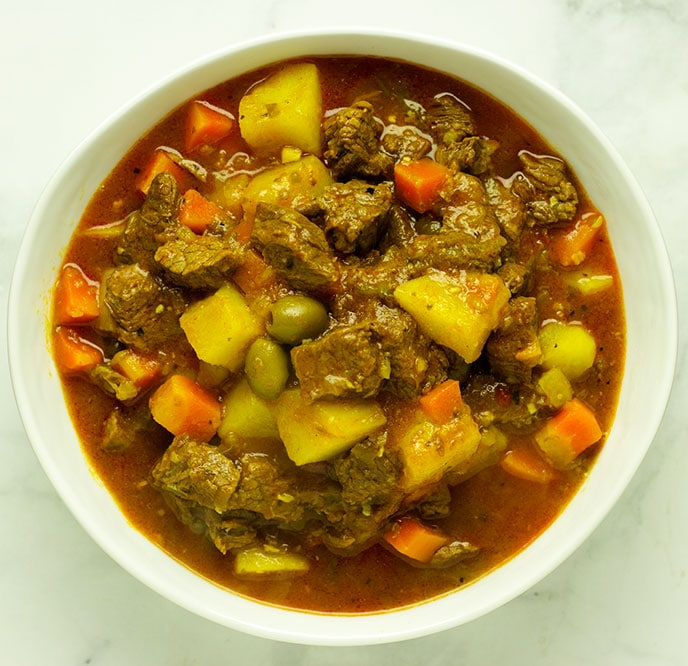 puerto rican beef stew recipe