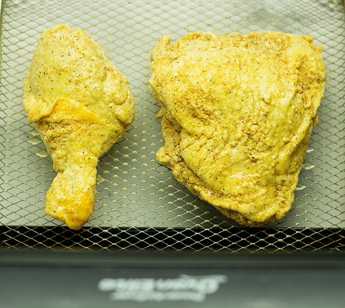air fryer fried chicken legs