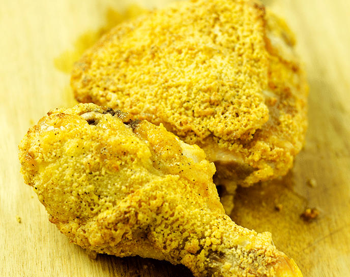 Crispy Air Fryer Fried Chicken In 30 Minutes Step By Step