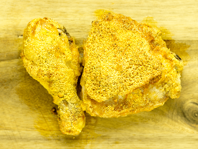 fried chicken in air fryer