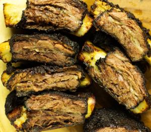 smoked beef back ribs
