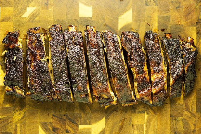 st louis style ribs smoked