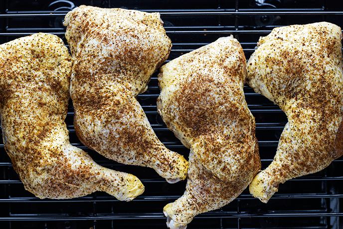 smoked chicken quarters recipe