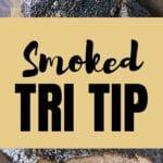 smoked tri tip recipe