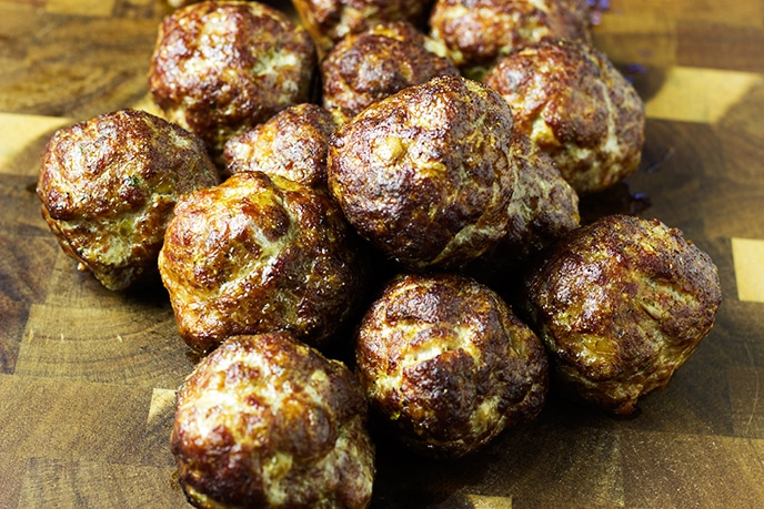 smoked meatballs recipe